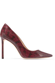 Jimmy Choo Romy elaphe pumps