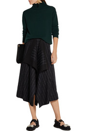 Marni Cape-back wool and cashmere-blend turtleneck sweater