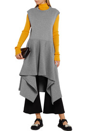 Marni Double-faced wool-blend jersey tunic