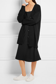 Jil Sander Oversized wool and cashmere-blend cardigan