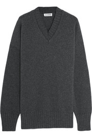 Jil Sander Oversized wool and cashmere-blend sweater