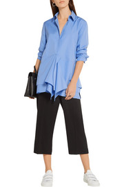 Jil Sander Ruffled cotton-poplin shirt