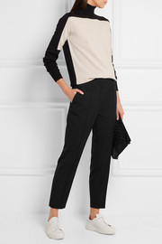Jil Sander Cropped stretch-wool straight-leg pants