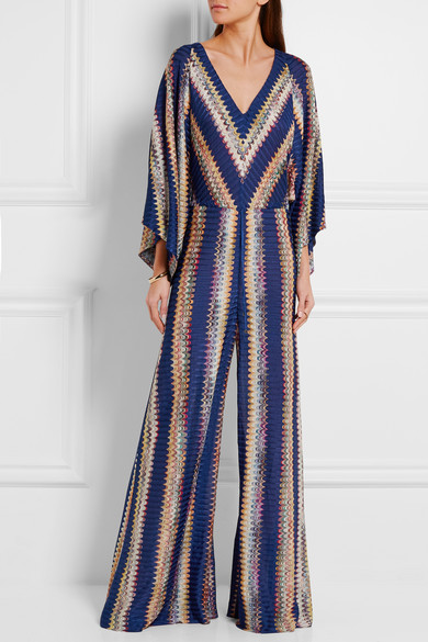e5cb15eabd5 Missoni. Crochet-knit jumpsuit