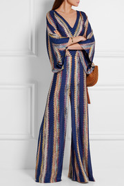 Missoni Crochet-knit jumpsuit
