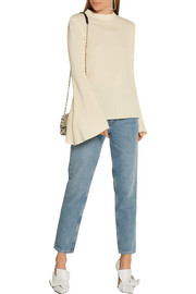 Sigmond textured-crepe top