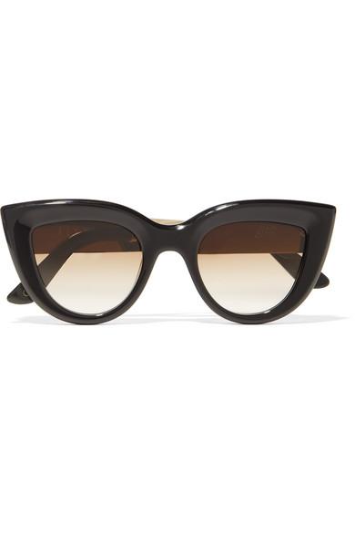 And Tone Gold Quixote Eye Sunglasses Cat Acetate UzpjLMVGqS