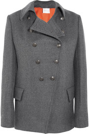 Pierre Balmain Double-breasted twill coat