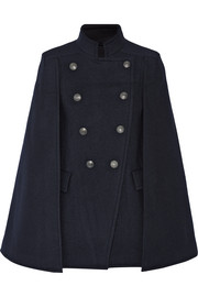 Pierre Balmain Double-breasted felt cape