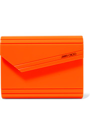 Candy neon acrylic clutch