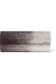 Jimmy Choo Sweetie glittered acrylic clutch