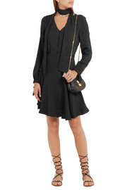 Paul & Joe Eflamenco crepe mini dress