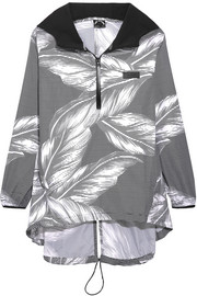 The Palms hooded printed shell jacket