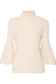 Adara cashmere and silk-blend sweater