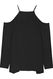 The Row Krauss cutout stretch-cady top