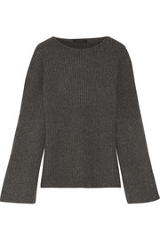 The Row Atilia ribbed cashmere sweater