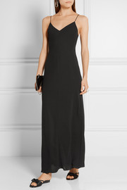 The Row Guinevere crepe maxi dress