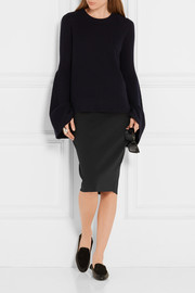 Larem stretch-scuba pencil skirt