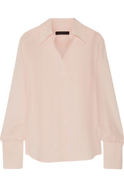 The Row Suz silk crepe de chine blouse