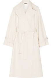 Swells oversized stretch-cotton coat