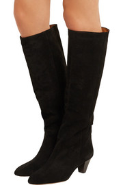 Isabel Marant Robby suede knee boots