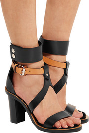 Isabel Marant Jenyd shearling-lined leather sandals