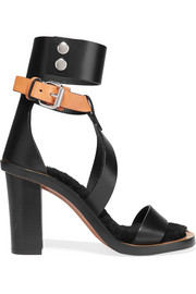 Jenyd shearling-lined leather sandals