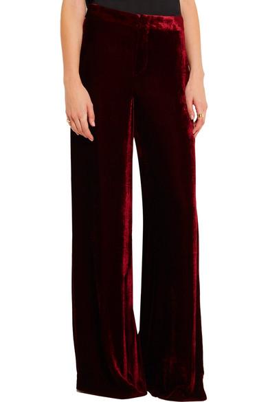 Etro | Velvet wide-leg pants | NET-A-PORTER.COM