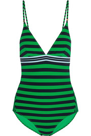 Calypso striped swimsuit