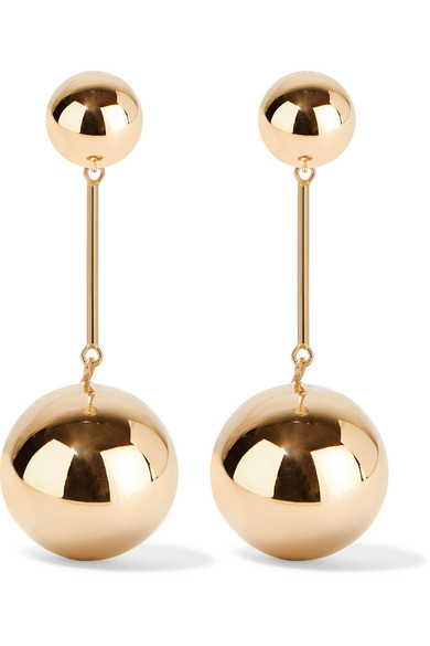 J.W.Anderson - Gold-plated Earrings