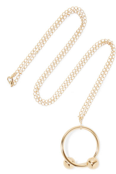 J.W.Anderson - Gold-plated Necklace - one size