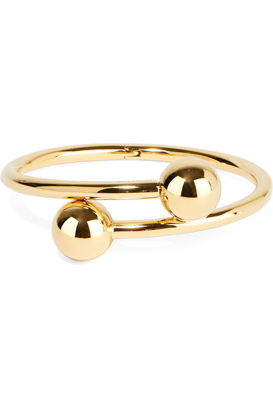 J.W.Anderson - Gold-plated Cuff