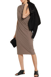 Rick Owens Draped jersey dress