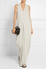 Rick Owens Cotton-jersey maxi dress