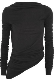 Rick Owens Open-back knitted top