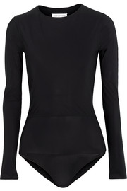 Maison Margiela Layered stretch-jersey bodysuit