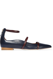 Robyn leather point-toe flats