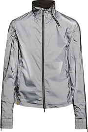 Action metallic shell jacket