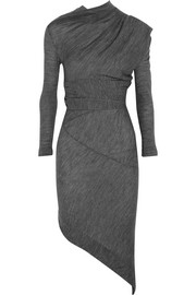 Vivienne Westwood Anglomania Asymmetric wool-jersey dress