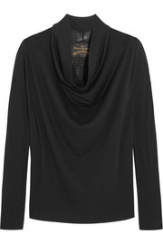 Vivienne Westwood Anglomania Fold wool top