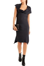 Vivienne Westwood Anglomania Ash draped crepe dress