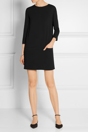 Marina crepe mini dress