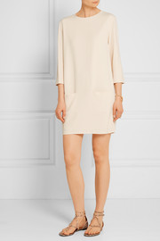 The Row Marina crepe mini dress
