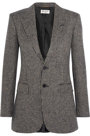 Saint Laurent Angie wool-tweed blazer