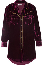 Saint Laurent Velvet shirt