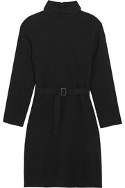 A.P.C. Atelier de Production et de Création Belted wool-felt dress