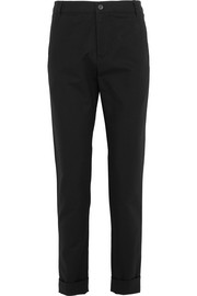 A.P.C. Atelier de Production et de Création Adele stretch-cotton piqué slim-leg pants