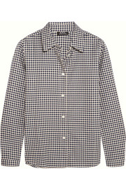 A.P.C. Atelier de Production et de Création Mike gingham cotton shirt