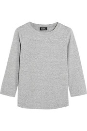 A.P.C. Atelier de Production et de Création Karen slub cotton-jersey top
