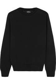 A.P.C. Atelier de Production et de Création Maud merino wool and silk-blend sweater